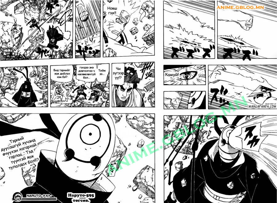Japan Manga Translation - Naruto - 595 - Chaps - 17